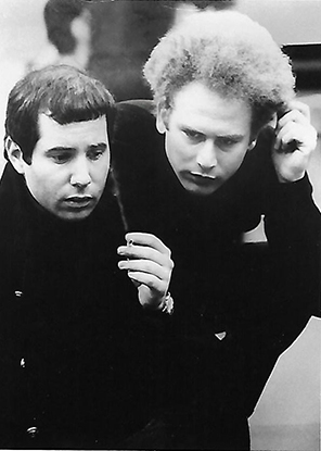 Paul Simon and Art Garfunkel